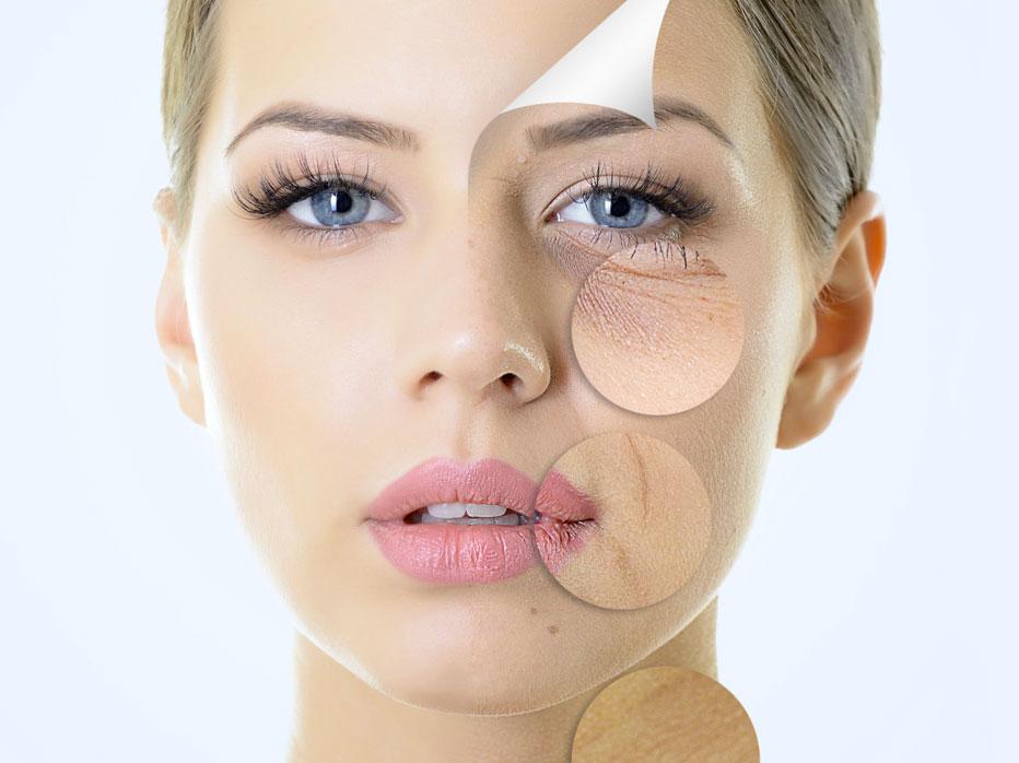 Anti aging zijn toepassingen bij een verouderde huid