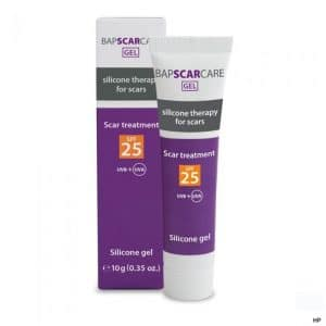 Bapscarecare siliconen litteken gel met UV bescherming